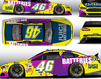 Juice Batteries Car Design and Hero Card