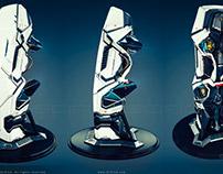 SciFi Cryopod 3D Model