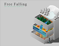 Free Falling   Image vectorielle (2012)