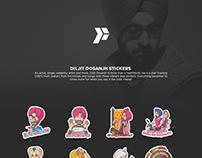 Diljit Dosanjh Stickers