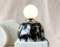 Spring Ceramic Lighting Collection