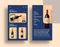 Wine shop app