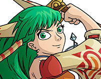 Grandia Characters 1