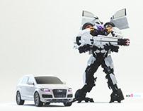 Transformer Audi Q7 - video