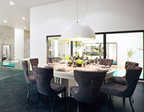 MODERN AND CLASSY DINING AREA