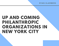 Up and Coming Philanthropic Organizations in New York