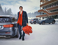 Roger Federer for Mercedes Benz Switzerland