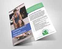 Suicide Prevention Brochure