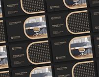 Free Furniture Business Card Design