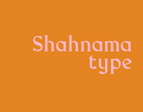 FONT DESIGN - SHAHNAMA