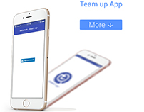 Team Up mobile app | UI Design
