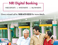 AXIS BANK: NRI Campaign Hoarding