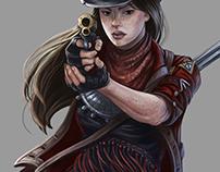 Theresa Diaz - Illustration for Legendary Games