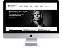 New Website Agency Hallvarsson