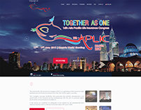 Webpage Single Page Design - Aplic 2017