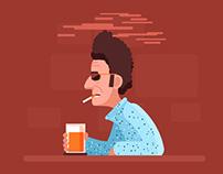 Feeling Good - Seinfeld - Animated Gif