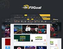 Redesign : Filgoal.com - Multi Layout UI/UX