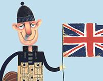 Nigel Cabourn best of British illustration
