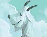 Flint the Mountain Goat