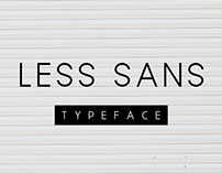 Less Sans Minimal Typeface - Free Download