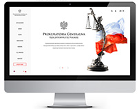 Public Prosecutor of Poland website concept