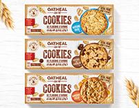 Cookies OATMEAL - Packaging Design