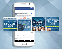 Student Days Facebook Campaign