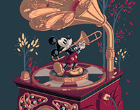 Mickey Melody Music Box