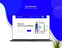 CallBackBox site redesign