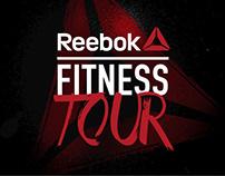 Reebok. Fitness Tour Art Direction & Design