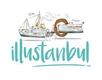 illustanbul // illustratin' istanbul editorial