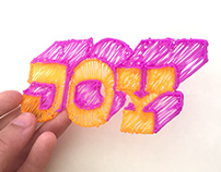 3D Pen - Hand Lettering