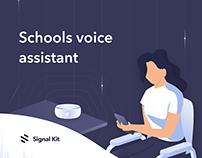 Schools voice assistant