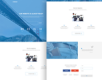 Conibasi-Coming Soon PSD Template