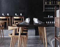 Dark Cafe Design
