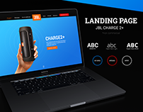 Landing Page JBL Charge 2+