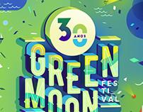 Propuesta grafica Green Moon Festival