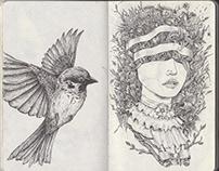 Sketchbook 2012-2013