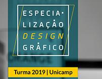 Especialização em Design Gráfico | Unicamp 2019