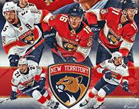 2019-2020 Florida Panthers poster