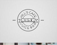 Logo Competition WINNER - Hills Cafe & Juice Bar