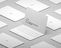 Minimalist Macbook Mockup