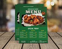 Creative Restaurant Food Flyer