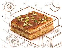 Coimbatore Bakery Branding & Illustrations
