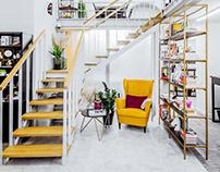 "Interior Photoshoot ""WHUB"" Co-working space"