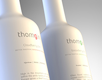 Thomgin ceramic bottle