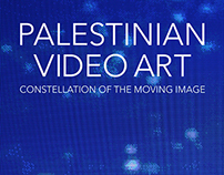 PALESTINIAN VIDEO ART - BOOK DESIGN