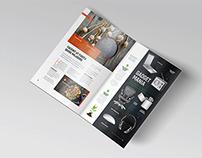 Free Bi-Fold A5 Brochure / Leaflet Mock-up