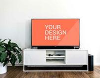 Sony TV Mockup - Free PSD