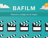 Bafilm - Mapa de locaciones - Posteos de Facebook